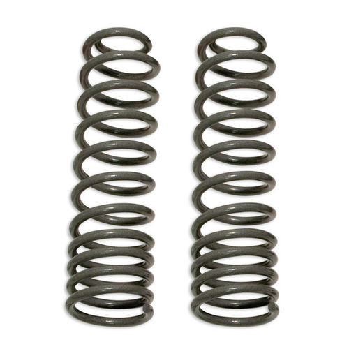 Coil Springs 97-06 Jeep Wrangler TJ Front 4 Inch Lift Over Stock Height Pair Tuff Country - 44907-BKFW