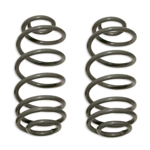 Coil Springs 97-06 Jeep Wrangler TJ Rear 4 Inch Lift Over Stock Height Pair Tuff Country - 44908-BKFW