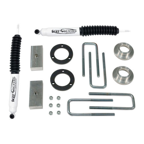 2 Inch Lift Kit 05-19 Toyota Tacoma 4x4 & PreRunner w/ SX6000 Shocks Excludes TRD Pro Tuff Country - 52920KH-BKFW