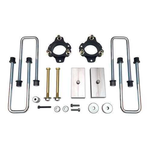 3 Inch Lift Kit 05-19 Toyota Tacoma 4x4 & PreRunner 3 Inch Front / 1 Inch Rear Lift Kit No Strut Disassembly Excludes TRD Pro Tuff Country - 53908-BKFW