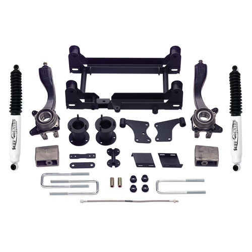 5 Inch Lift Kit 95-04 Toyota Tacoma 4x4 & PreRunner w/ SX8000 Shocks Tuff Country - 54900KN-BKFW