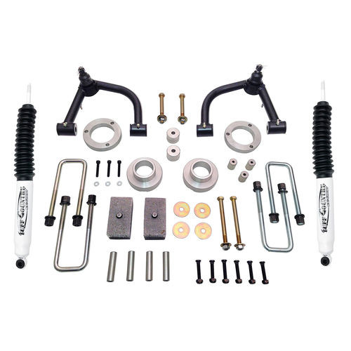 4 Inch Lift Kit 05-19 Toyota Tacoma 4x4 & PreRunner w/ SX6000 Shocks Excludes TRD Pro Tuff Country - 54905KH-BKFW