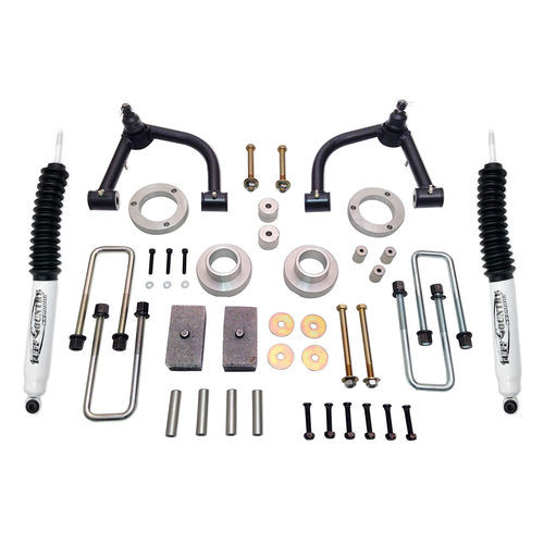 4 Inch Lift Kit 05-19 Toyota Tacoma 4x4 & PreRunner w/ SX8000 Shocks Excludes TRD Pro Tuff Country - 54905KN-BKFW