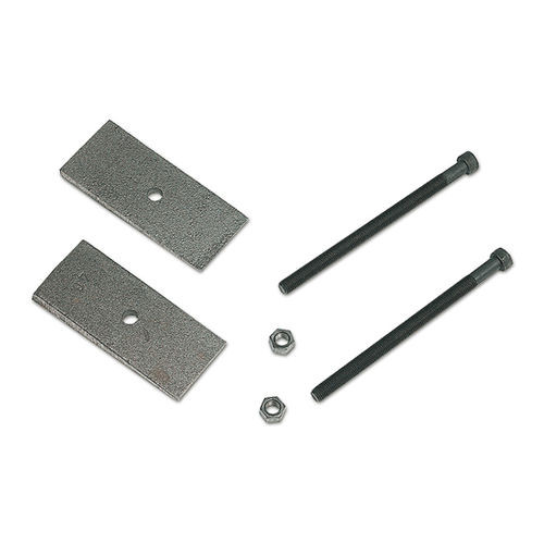 2 Degree Axle Shims 3 Inch Wide With 3/8 Inch Center Pins Pair Tuff Country - 90013-BKFW