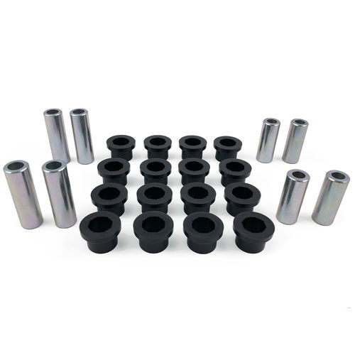 Control Arm Bushing and Sleeve Kit 94-99 March of 1999 Dodge Ram 1500/2500/3500 4WD Upper & Lower Fits with Tuff Country Lift Kits only Tuff Country - 91305-BKFW