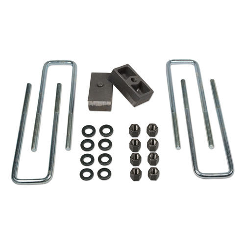 1.5 Inch Rear Block & U-Bolt Kit 88-98 Chevy/GMC Truck 1500 2500 & 3500 4WD/92-98 Chevy/GMC Suburban 1500 & 2500 4WD/94-98 Tahoe/Yukon 4WD Tuff Country - 97033-BKFW