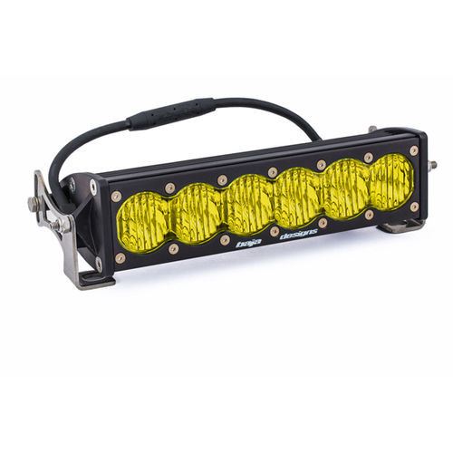 10 Inch LED Light Bar Amber Lens Wide Driving OnX6 Baja Designs - 451014
