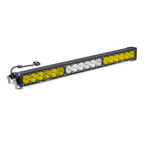 30 Inch LED Light Bar Amber/White Dual Control OnX6 Series Baja Designs - 463014