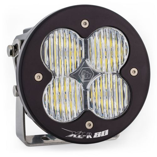 LED Light Pods Clear Lens Spot Each XL R 80 Wide Cornering Baja Designs - 760005