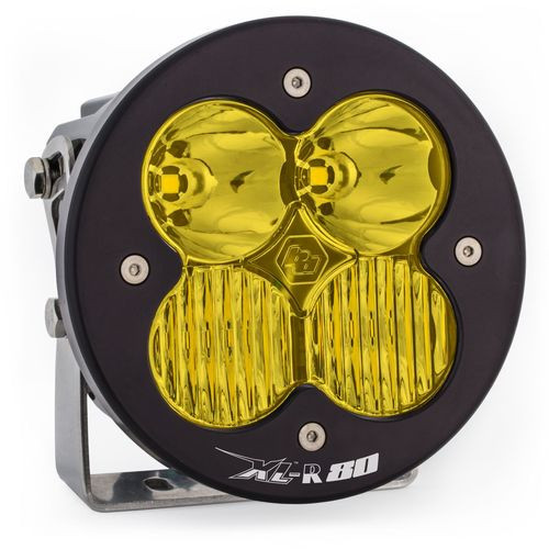 LED Light Pods Amber Lens Spot Each XL R 80 Driving/Combo Baja Designs - 760013