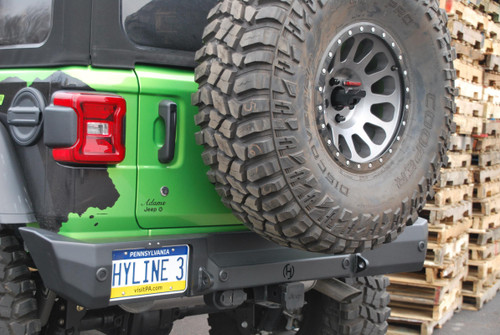 Jeep JL Swingout Tire Carrier Summit For 18-Pres Wrangler JL Bolt On Hyline Offroad - 600.200.120