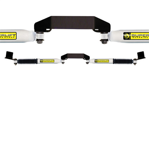 Dual Steering Stabilizer Kit-SL (Hydraulic)-99-04 F-250/F-350/Excursion 4WD - 92625