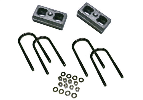 1.5 Rear Block Kit-99-10 F-250/350 w/3 7/8 Axle Tube w/Top Mnted Overloads - 9316