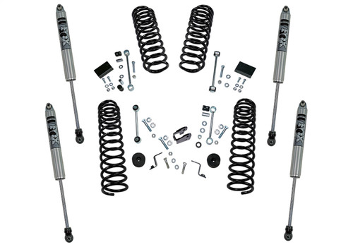 2.5 Dual Rate Coil Lift Kit w/Fox Shocks-18-20 Wrangler JL-2Dr - K185F