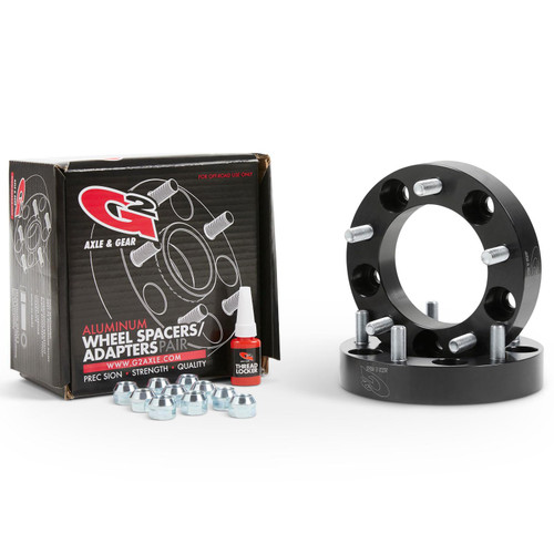 Wheel Spacer 5X5.5 1.25 In 5X5.5 1.25 In Thick G2 Axle and Gear - 93-85-125