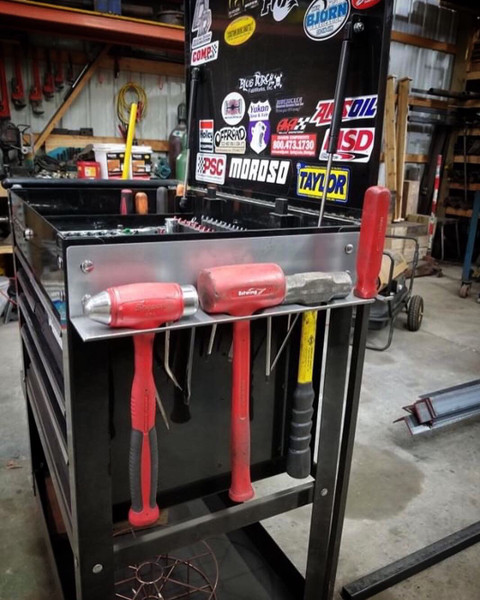 Deuling Design Hammer Rack Harbor Freight Tool Box