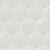 Ace Tiles Hexatile 175x200 Brillo Gloss Gris Claro Porcelain Wall Tile AC-3043D 35 Pack