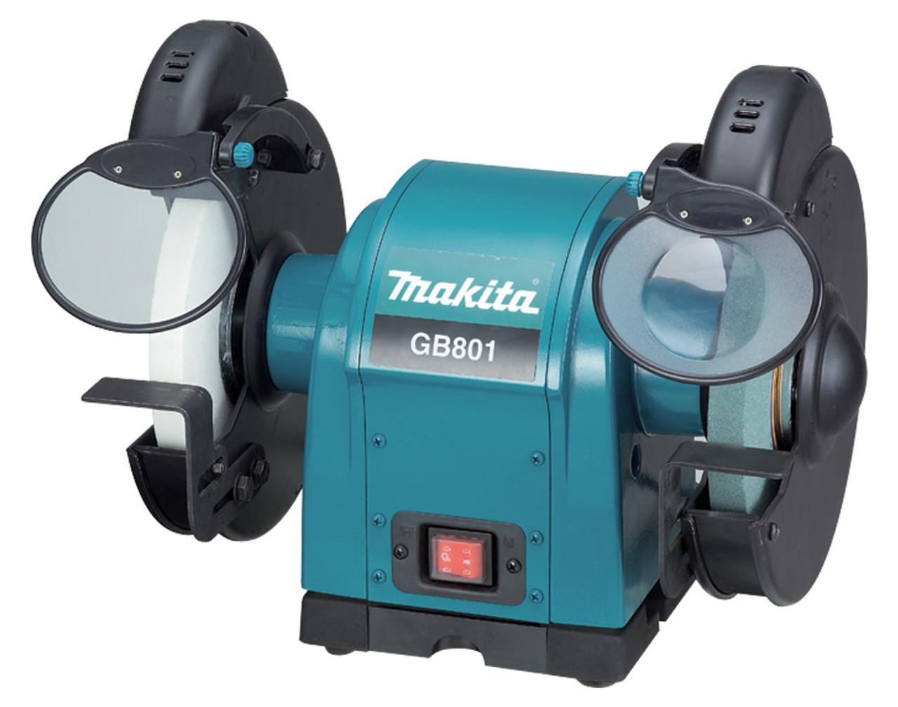 Makita Bench Grinder, 205mm x 19mm, 550W GB801