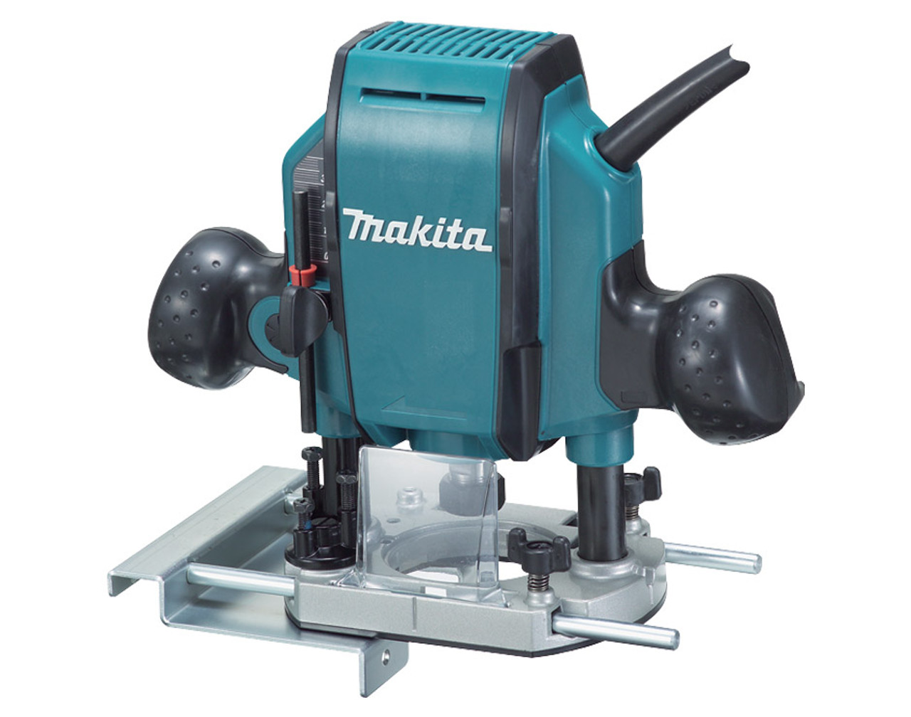 """Makita Electronic Plunge Router, 3/8"""" 900W RP0900X1"""