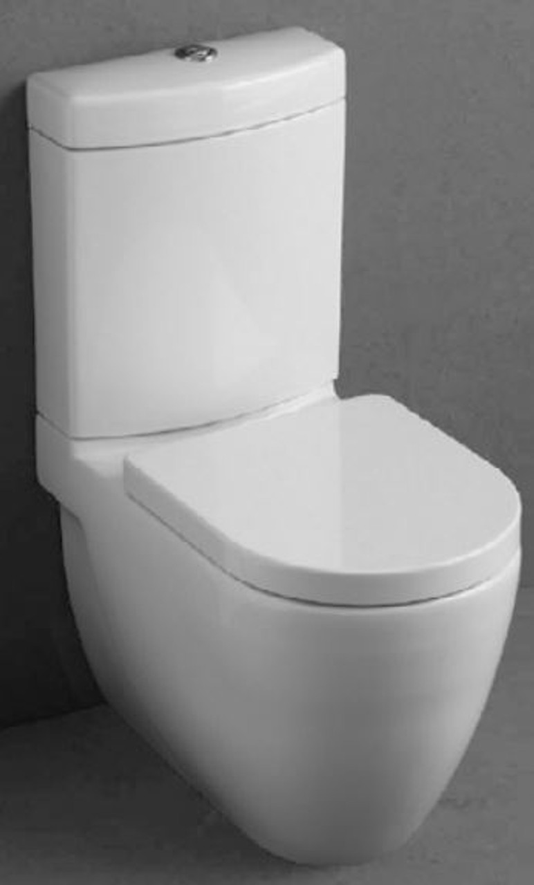 Studio Bagno Nicole Back To Wall Toilet Suite Wall Faced Back Inlet NI001