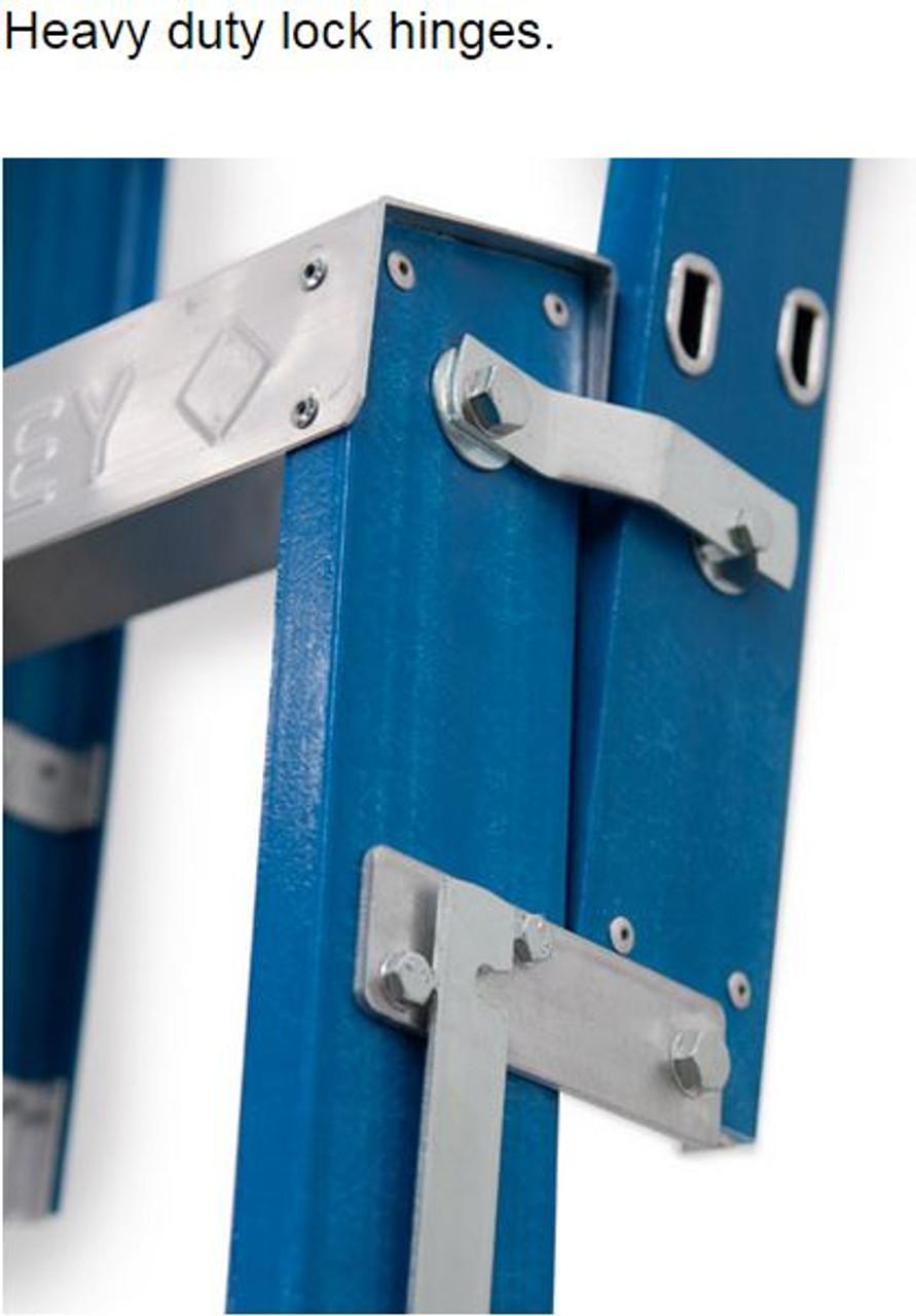 Bailey Dual Purpose Ladder Fibreglass 120kg 2.1-3.8m RFDP7 Industrial FS10481