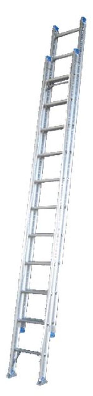 Indalex Extension Ladder Aluminium 180KG 3.2-5.2M Leveller PROX18