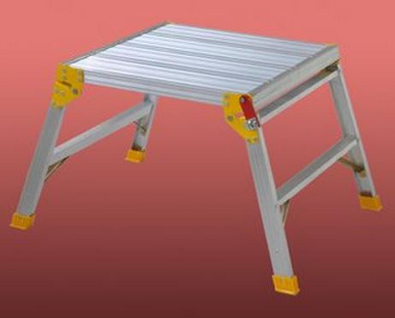 Indalex Work Platform Aluminium 120KG 600x600x500mm TRDWP60