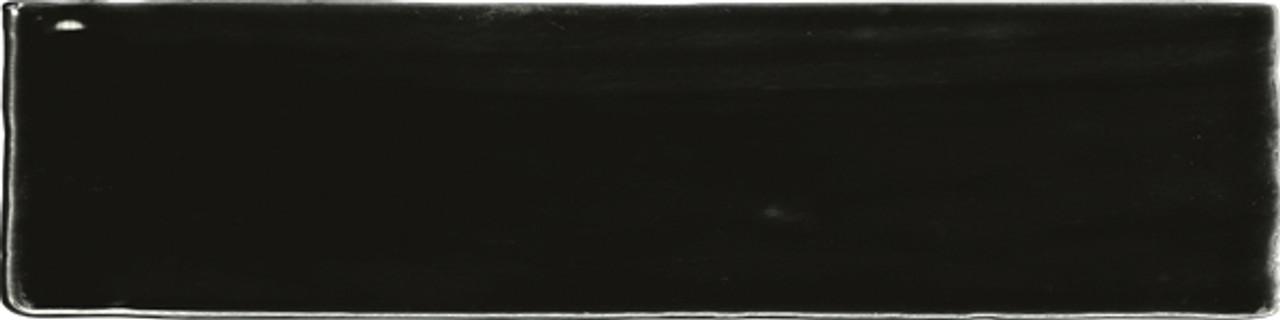 Ace Tiles Devon Masia 75x300 Gloss Black Ceramic Wall Tile AC-013D 44 Pack