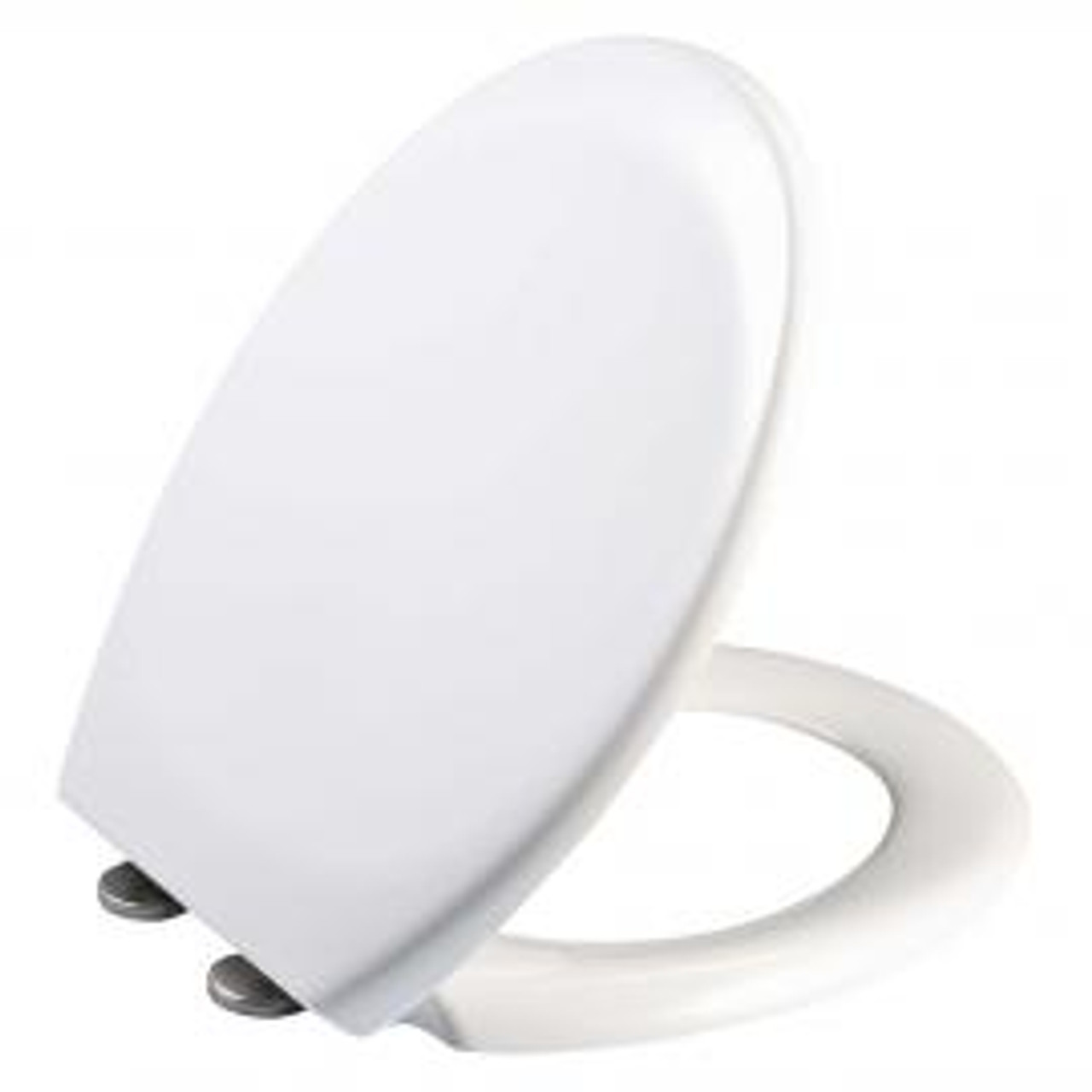 Fix-A-Loo Deluxe Toilet Seat White Soft Close