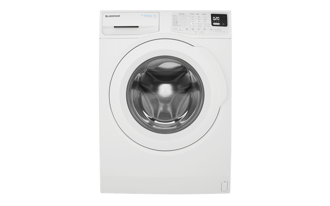 Simpson 7Kg Front Load Washer SWF7025EQWA