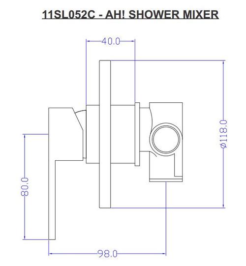 Ah Shower Mixer 11SL052C