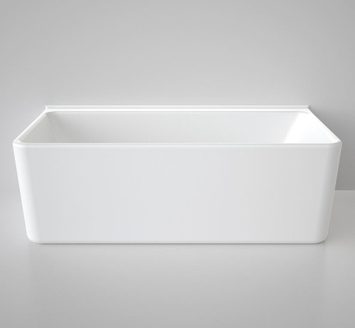 Caroma Cube 1800 Back To Wall Freestanding Bath CU8WFW
