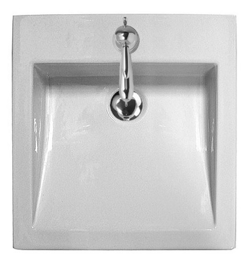 Parisi Acqualine Wall Mount Basin No Tap Hole AC6360/S
