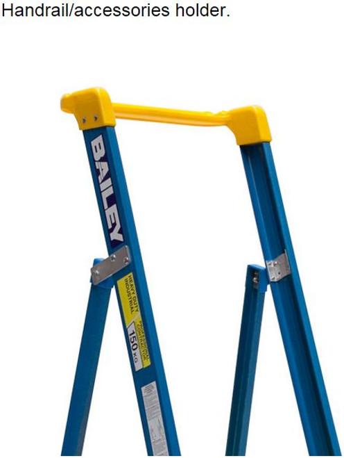 Bailey Platform Ladder Fibreglass 150kg 2.1m FS10725