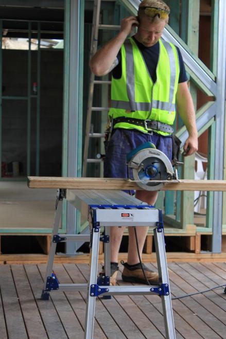 Bailey Work Platform Aluminium 260kg W.L.L. Xtenda Plank 1.2-1.96m 650-880mm FS13352