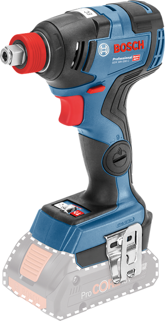 Bosch Impact Wrench Driver GDX18V-200C