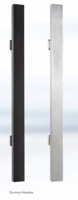 The Grange Digital Access Control Entry Pull Handle  Satin Stainless Steel