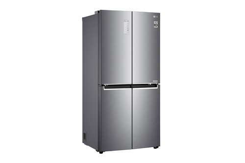 LG French Door Fridge 594L 4 Door French Door Refrigerator Stainless Steel GF-B590PL