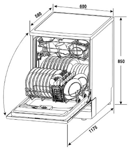 Nardi By Schweigen Dishwasher LSF60E9XA
