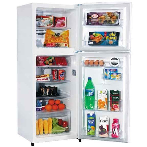 LG White Top Mount Fridge GN205VW
