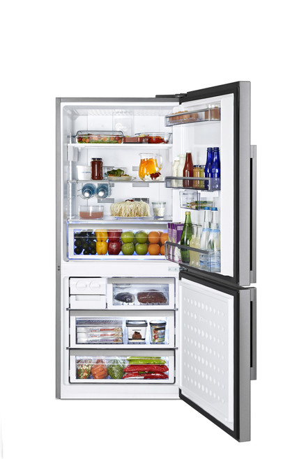 Beko 505L Stainless Steel Bottom Mount Fridge CN151120X
