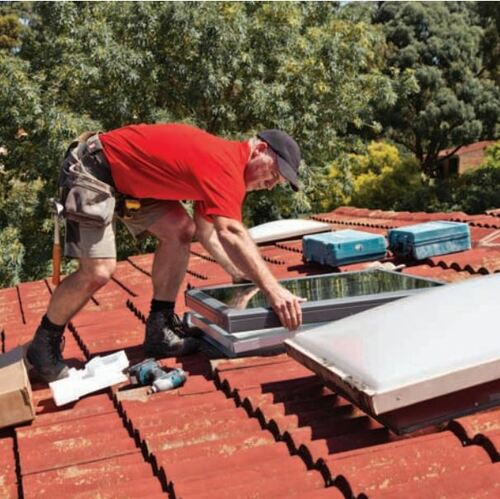 Velux Skylights Fixed H/Perf D/Glaze FXD FS M06 2004A H/PERF 780x1180