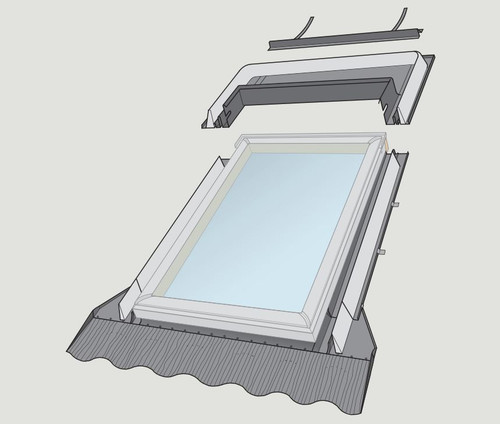 Velux Skylights Fixed Flashing Kit VELUX FLASHING EDW C01