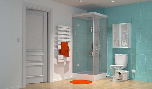 Saniplus Toilet/Vanity/Shower/ Bth Saniflo