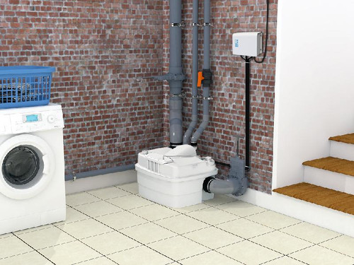 Sanicubic Pro All Waste-Toilet Pump Saniflo