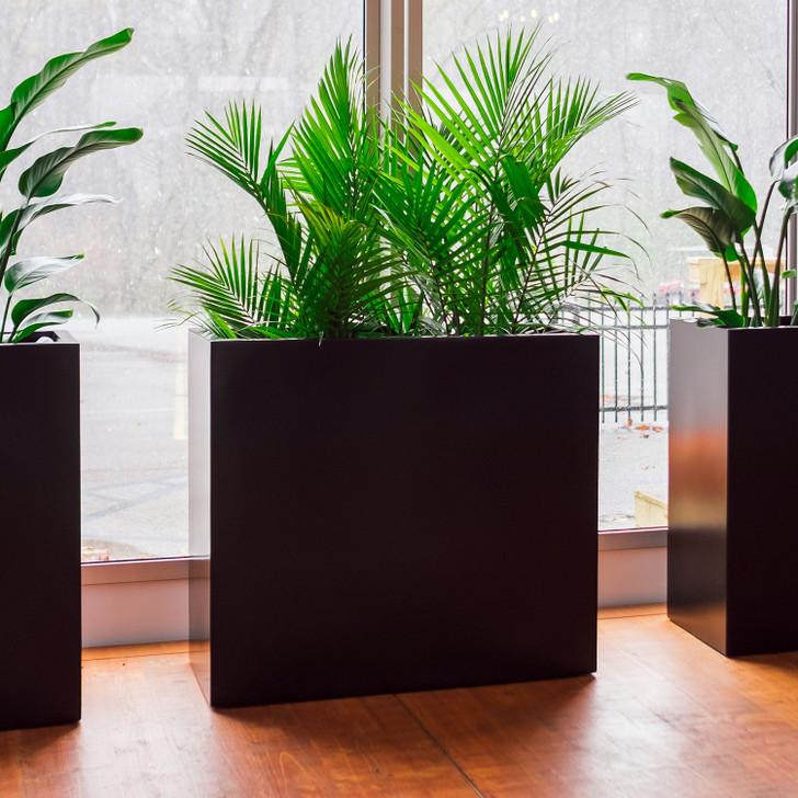 Potsdam Large Rectangular Planter Boxes on display