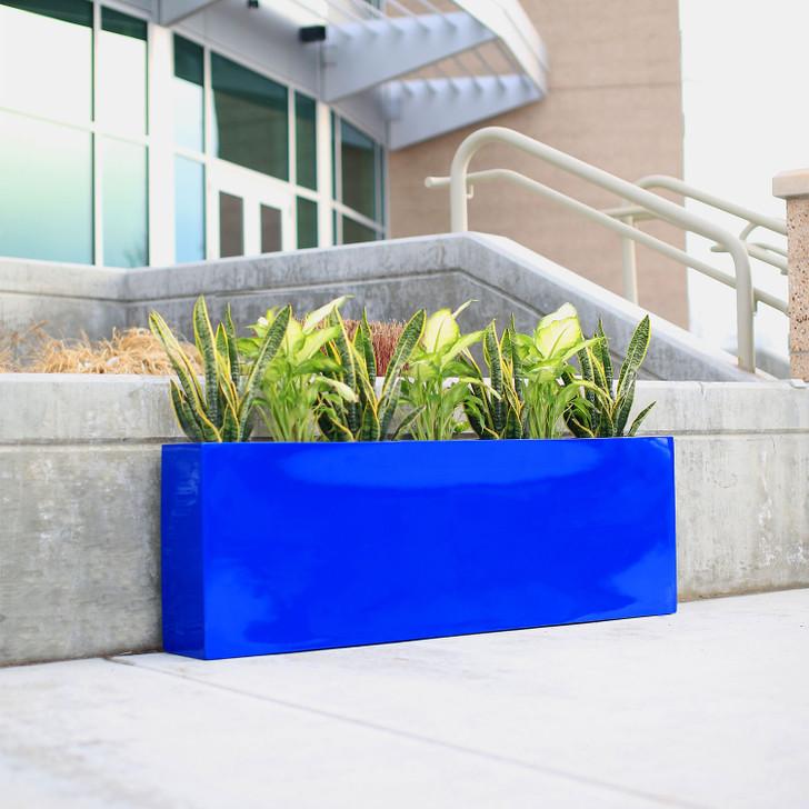 Camoux Narrow Contemporary Planter Box - outdoor