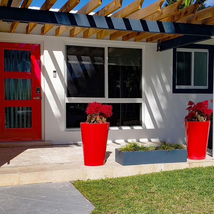 Pego Oval Tall Planter Pot