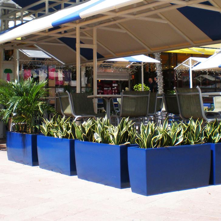 Panama Tapered Planter Box (Blue)