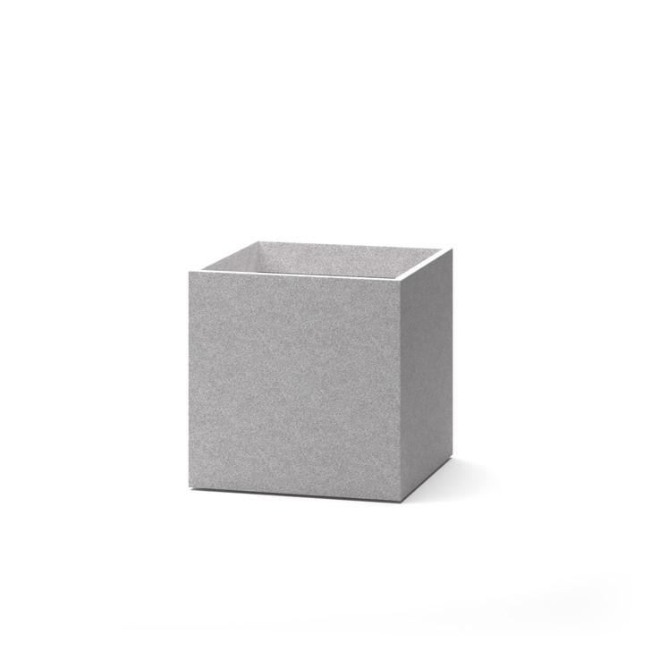 gray Walden Cube Planters
